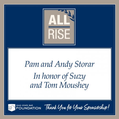 Pam and Andy Storar in honor of Suzy and Tom Moushey